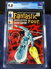 Fantastic Four #72, CGC 9.0, 1968, ow/w pages, new slab