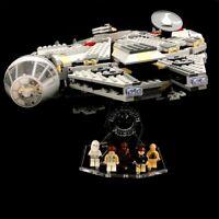 Acryl Display Stand Acrylglas Standfuss für LEGO 4504 Millennium Falcon