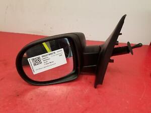 2009 RENAULT CLIO 3 DOOR HATCHBACK NEARSIDE PASSENGER MANUAL DOOR WING MIRROR