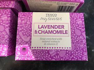 bulk buy offer 15 bars tesco lavender and chamomile soap 100g bars