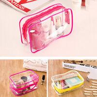 Sacchetto cosmetico da viaggio in plastica trasparente in pvc BHQ