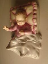 ROYAL DOULTON  CHRISTENING GIRL HN 5161 MINT + DARLING HN 1985  MINT - NO BOXS