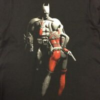 BATMAN & HARLEY QUINN Men's T-Shirt DC Comics Dark Knight Suicide Squad - M & L