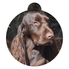 Field Spaniel Dog Breed Picture Pet ID tag