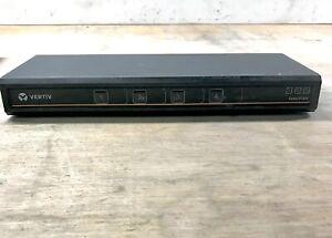 Veritiv Cybex SC840 4-Port DVI Secure KVM Switch 520-935-501
