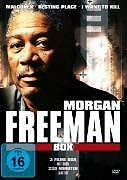 Morgan Freeman Box: MALCOM X/Resting Place/I Want To Kill-DVD-Neuf/Neuf dans sa boîte