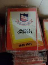 1990-91 Pro Cards IHL ALBANY CHOPPERS Hockey Team Set Sealed