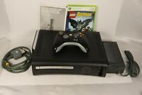 Microsoft Xbox 360 Elite Lego Batman & Pure Bundle 120GB Black Console in Box
