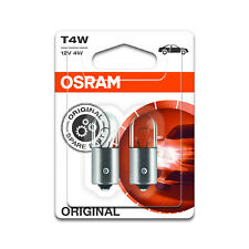 2x Volvo 480 E Genuine Osram Original Side Light Parking Beam Lamp Bulbs