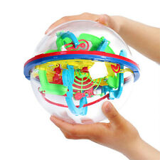 3D Labyrinth Magic Rolling Ball Puzzle Brain Teaser Game Sphere Maze for Kids