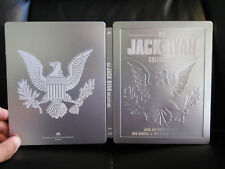 The Jack Ryan Collection Blu-Ray Steelbook [Germany] Open Embossed Tom Clancy