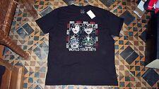 AWESOME! Men's Black T-Shirt KISS 1979 World Tour Crew XL Lucky Brand $40 NWT!