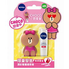 [NIVEA x LINE] CHOCO Care & Colour RED Moisturizing Caring Tinted Lip Balm 4.8g