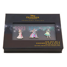 Disney Princess Pin Set Designer Collection Set Two Limited Edition