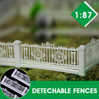 GY43087 1:87 Detechable Fences for Train Railway HO scale Model Table