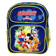 """Disney Mickey Mouse and Friends School  Backpack : 12"""" Small"""
