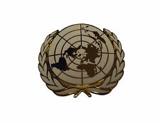 United Nations Cap Badge - Metal Badge - One Size - Brand New - SP623