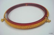22k gold bracelet bangle handmade tribal jewelry