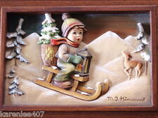 Hummel Goebel Music Box Ride into Christmas Reuge Anri First Edition # 04454