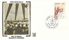 1980 POPE JOHN PAUL II BRAZIL EUCARISTIC CONGRESS COVER
