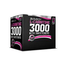 BioTech USA L-Carnitine 3000 20 Shots x 3000mg L-Carnitin Diät Fettabbau Fatburn