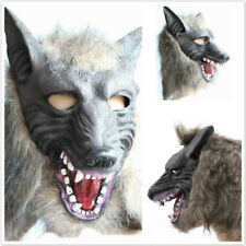 Halloween Wolf Head Covers Full Face Horror Ghost Masks Party Stage Cosplay D