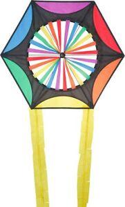 Kites Dragon Kites Colourful Children's Kite Autumn Flying Hexagon