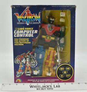 Lion Force Computer Control Voltron Defender of the Universe 1985 LJN NEW MIB