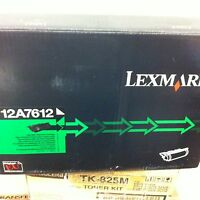 Original Lexmark 12A7612 Toner Black for T630 632 634 X630 632 New A-Grade