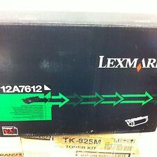 ORIGINAL LEXMARK 12A7612 Toner noir pour T630 632 634 X630 632 Neuf A-Ware