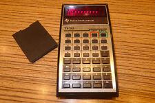 1 Stück Texas Instruments TI 33 Taschenrechner. Alt-Version Rot (606)