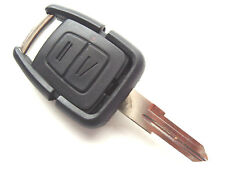 Fits Vauxhall Opel Astra Vectra Corsa 2 Button Remote Fob Case Left Blade Key