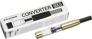 Platinum Fountain Pen Converter Gold CONVERTER-800A