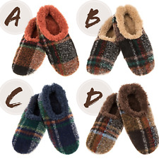 Men's Bold Plaid Snoozies!