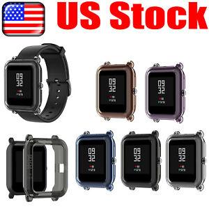 TPU Case Cover Bumper for Amazfit GTS 2 Mini/Amazfit Pop Pro Smart Watch #USA