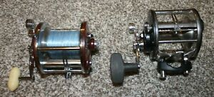 2 VINTAGE Penn 209 Level Wind Reels In Working Condition