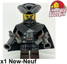 Lego - Figurine Minifig Minifigurine série 17 Highwayman voleur bandit gun NEUF
