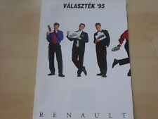 52134) Renault R19 16V Phase II Clio A Twingo Ungarn Prospekt 06/1995
