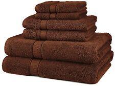 Pinzon 6-Piece Egyptian Cotton Towel Set - Cocoa