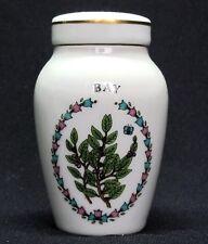 Franklin Mint Porcelain Spice Jars, Gloria Concepts Inc. - Bay Leaves