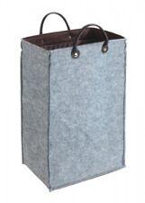 WENKO Filz Aufbewahrungsbox 45 L faltbar Aufbewahrungstruhe Wäschekorb Wäschebox