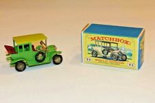 Matchbox Models of Yesteryear Lime Green 1910 Benz Limousine Car Y-3 In Orig.Box