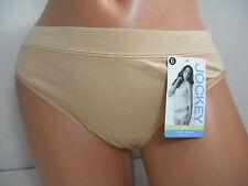 Jockey Cotton Stretch Modern Fit Beige Bikini Panty, Size 6 #A236828