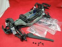 TRAXXAS RUSTLER  4X4 VXL PRE ROLLER ROLLING CHASSIS 4WD PARTS LOT NEW 4 X 4