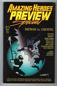 - -> AMAZING HEROES Preview Special #11 ... 1990 ... 152 pages