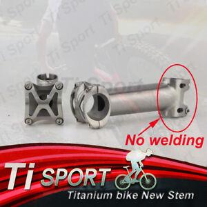 "TiSpot Titanium (No Welding) Stem 25.4/31.8mm1-1/8""For Road&Mountain bike"