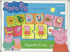 Peppa Pig Opposites Cards