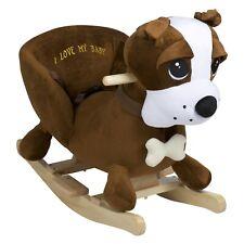 babyGo Rocker Dog Schaukeltier Schaukelpferd Hund mit Sound
