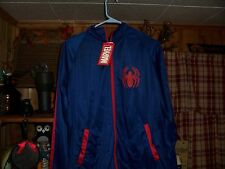 MARVEL COMICS MENS SPIDER MAN JACKET COAT SIZE LARGE 42-44 SUPER HERO CLOTHING