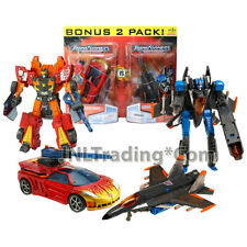"""Year 2007 Transformers Universe 2 Pack Deluxe Class 6"""" EXCELLION&THUNDERCRACKER"""